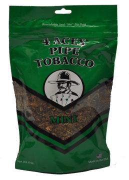 4 ACES MINT PIPE TOBACCO 6OZ BAG