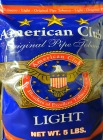 American Club Light Pipe Tobacco 4.5lb Bag