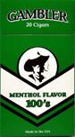Gambler Filtered Cigar Menthol 100 Box