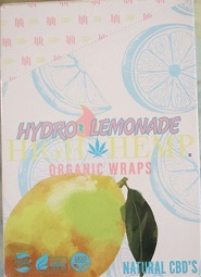 High Hemp CBD Organic wraps- HYDRO LEMONADE