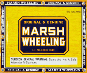 Marsh Wheeling Deluxe Dark 50ct Box 