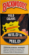 BACKWOODS WILD & MILD ORIGINAL (5 PACKS OF 8 CIGARS)