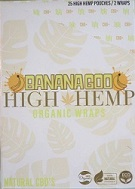High Hemp CBD Organic wraps- BANANAGOO