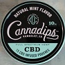 CANNADIPS CBD MINT 5CT ROLL
