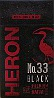 HERON No.33 BLACK FULL FLAVOR 100 BOX