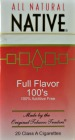 NATIVE FULL FLAVOR 100 BOX