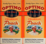 OPTIMO CIGARILLO - PEACH 20/5PKS