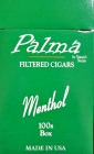 Palma Filtered Little Cigars - Menthol 100 Box