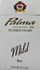 Palma Filtered Little Cigars - Mild 100 Box