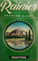 RAINIER MENTHOL KING BOX