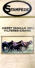 STAMPEDE FILTERED CIGAR SWEET VANILLA 100 BOX