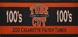 GAMBLER TUBE CUT CIGARETTE TUBES FULL FLAVOR 100 - 200CT BOX