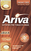 ARIVA DISSOLVABLE TOBACCO PIECES - JAVA - 1 PACK OF 10 