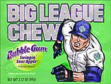Big League Chew - Swingin' Sour Apple 12ct Box 