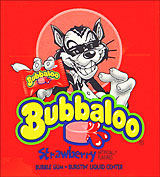 Bubbaloo Bubble Gum Strawberry 60ct