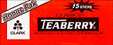 Clark's Teaberry 12/15 Sticks 