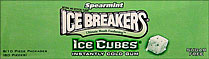 Ice Breakers Ice Cubes Spearmint 8/10 Piece Packages