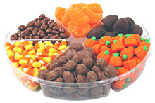 Gourmet Thanksgiving Candy Tray