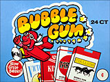 World's Bubble Gum Sticks 24ct