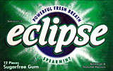 Wrigleys Eclipse Spearmint, 12/12Pks