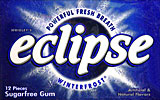 Wrigleys Eclipse Winterfrost, 12/12Pks