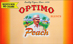 OPTIMO BLUNTS - PEACH 60CT