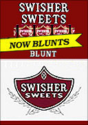 SWISHER SWEETS BLUNT 10/5PKS 