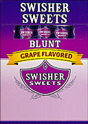 SWISHER SWEETS BLUNT GRAPE 10/5PKS 