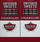 SWISHER SWEETS CIGARILLOS - 20/ 5PKS