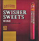 SWISHER SWEETS CIGARILLO WINE 60CT BOX