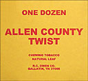 ALLEN COUNTY TWIST 12CT