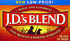 J.D.'s  BLEND CHEWING TOBACCO  12 COUNT
