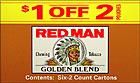 RED MAN GOLDEN BLEND 12 COUNT - SPECIAL OFFER