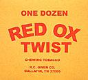 RED OX TWIST SM  BX/12CT