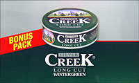 SILVER CREEK LONG CUT WINTERGREEN- SPECIAL 24CT DISPLAY