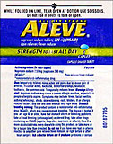 Aleve 12 Packets Of 2 Tablets