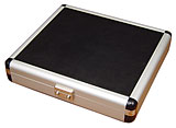Black &amp; Silver Travel Humidor 