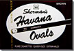 NAT SHERMAN HAVANA OVALS BROWN - CUBE