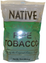 NATIVE PIPE TOBACCO - MENTHOL 16OZ BAG