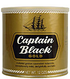 CAPTAIN BLACK GOLD PIPE TOBACCO 12 OZ CAN