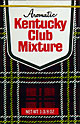 KENTUCKY CLUB MIXTURE AROMATIC PIPE TOBACCO 6 1-3/8OZ PACKS
