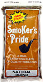 SMOKER'S PRIDE NATURAL BLEND 12OZ BAG