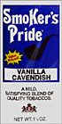SMOKER'S PRIDE VANILLA CAVENDISH 6 1.5 OZ POUCHES