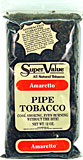 SUPER VALUE AMARETTO PIPE TOBACCO 12 OZ BAG