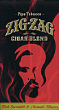 ZIG ZAG CIGAR BLEND PIPE TOBACCO - SIX 0.75 OZ POUCHES 