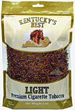 KENTUCKY'S BEST LIGHT CIGARETTE TOBACCO 6OZ BAG 