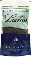 LAKES LIGHT CIGARETTE TOBACCO 6oz. BAG