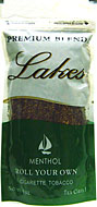 LAKES MENTHOL CIGARETTE TOBACCO 6oz. BAG