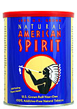 NATURAL AMERICAN SPIRIT  100% AMERICAN TOBACCO 5.29 OZ CAN