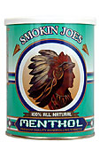 Smokin Joes 100% Natural Menthol Tobacco 5.29oz can